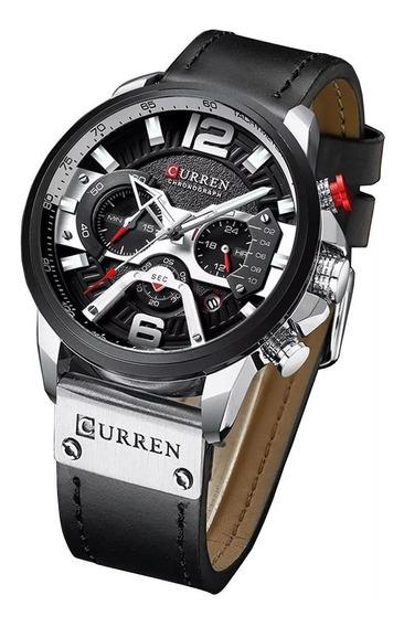 Promoção Relógio Masculino Curren Lançamento Envio 24hrs