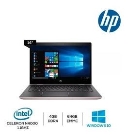Notebook Hp Intel 4gb 64gb Ssd Placa Video Uhd 600