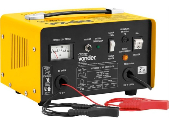 Carregador De Baterias 90a Cbv 950 Vonder