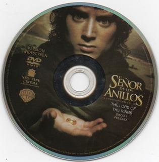 Dvd El Señor De Los Anillos. 3 Peliculas La Saga