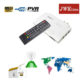 Caja Sintonizador De Tv Digital Isdb-t Full Jwk
