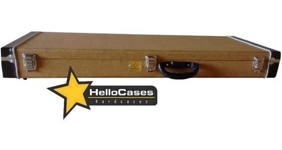 Case Tweed Guitarra Stratocaster Strato Les Paul Telecaster