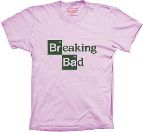 Camisetas 4fun - Silk Série Breaking Bad