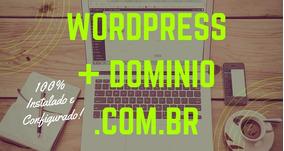 Wordpress + Dominio.com.br