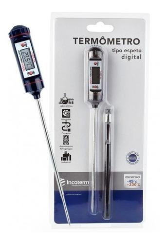 Imagem 1 de 9 de Termômetro Culinário Digital -45+230:0,1c 78 X 24mm Incoterm