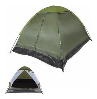 Barraca Iglu Pantanal 3 Pessoas Verde Camping 9031 - Mor
