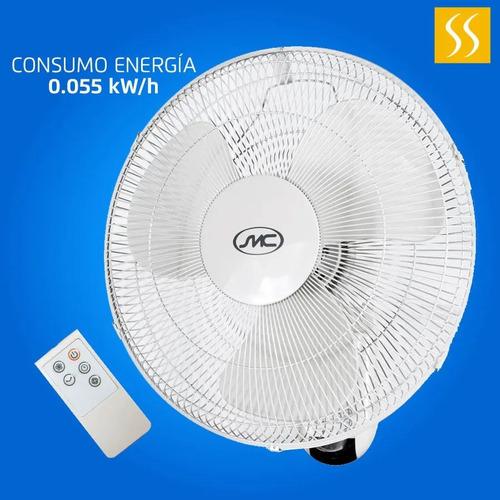 Ventilador De Pared 16  Control Remoto Smc