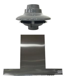 Campana Cocina Acero Slim 60 Cm Motor Exterior 4