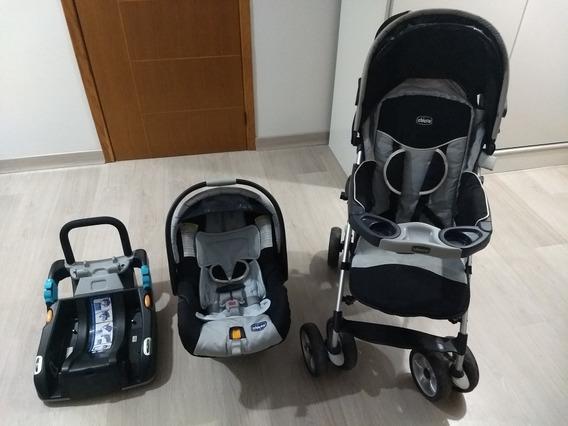 Carrinho + Bebê Conforto Chicco Trevi