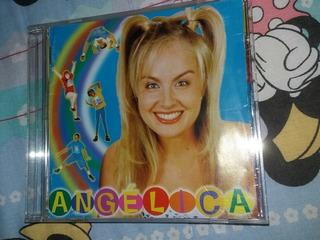 Cd Angélica 1998 Palavrinhas Mágicas Angel Mix Globo