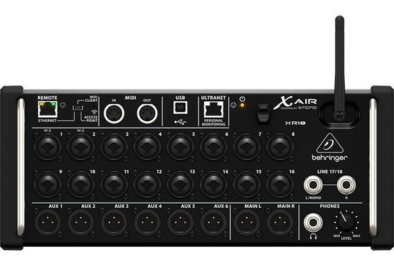 Mesa Som Behringer Xr18air Xr18 Air Mixer Digital 18 Canais
