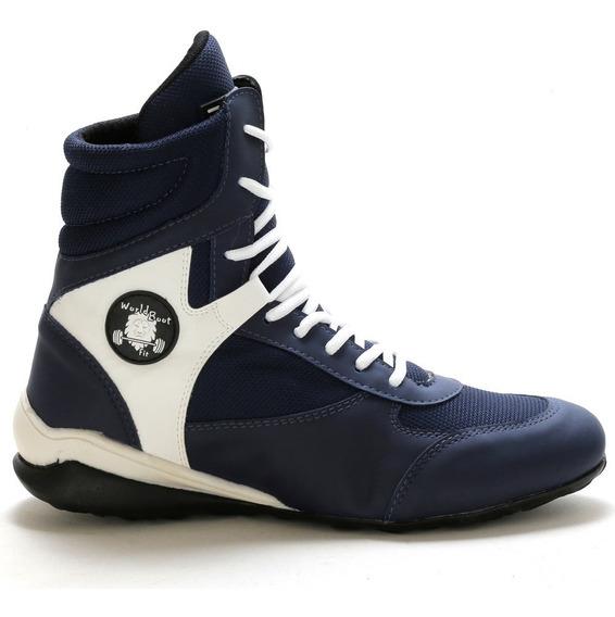 Bota Academia Fitnes World Boot Promoção