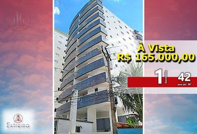 Lindo Apartamento De Um Dormitório A 100 Metros Do Mar - Ap0854
