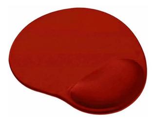 Mouse Pad Netmak Apoya Muñeca Almohadilla Gel Colores Varios