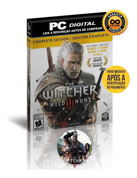 The Witcher 3 Wild Hunt - Goy - Pc Digital + Brinde