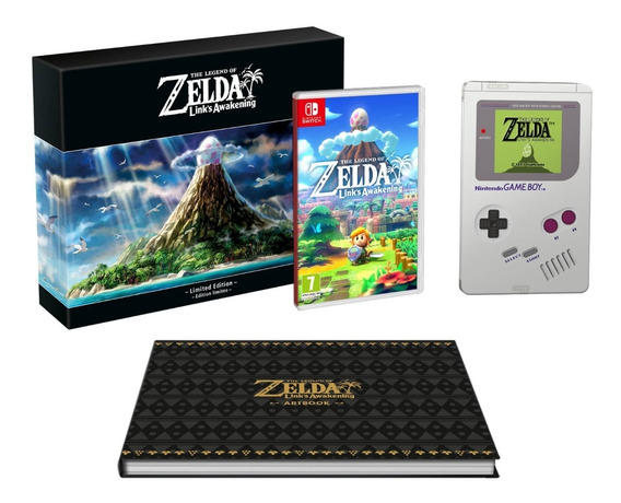 The Legend Of Zelda Links Awakening Limited Edition Switch