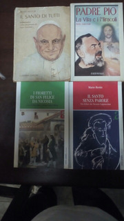 Libros En Italiano (4).padre Pio Y Otros