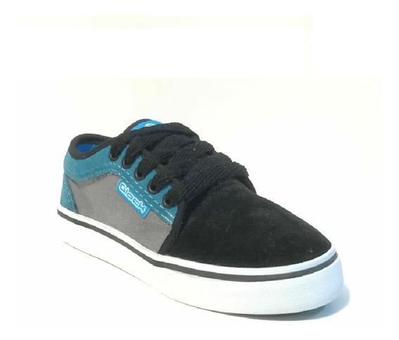 Glock Zapatillas California Skate Negro/celeste