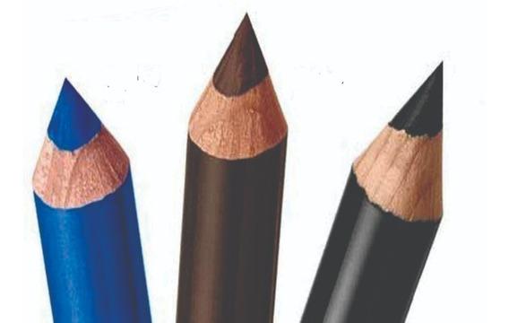 Kit De 3 Lápis Delineador Para Olhos Color Trend 1,2g