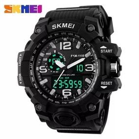 Relógio Militar Skmei Analógico/digital Shock 12x S.juros