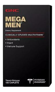 Megamen Multivitamínico Gnc Nutrition- 180 Tablets Importado