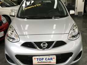 Nissan March 1.0 12v 2017 - Mensais De R$ 799