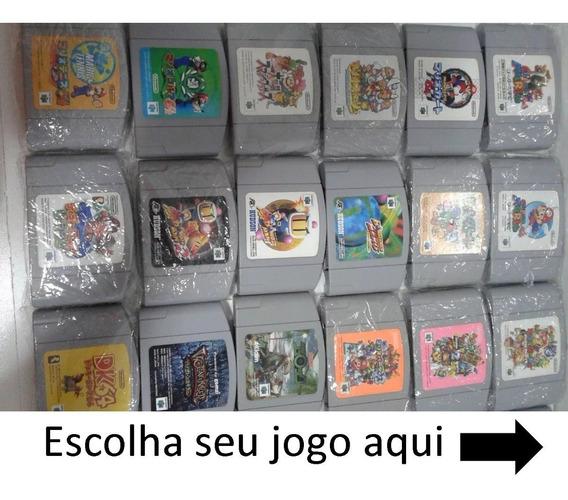 Jogo Para N64 Nintendo 64 100% Original Com Nota Fiscal