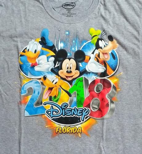 Imagen 1 de 3 de Polo Disney Mickey 100% Original Talla M Nuevo En Stock