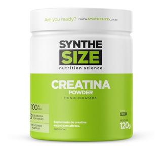 Creatina Monohidratada 120g Synthesize