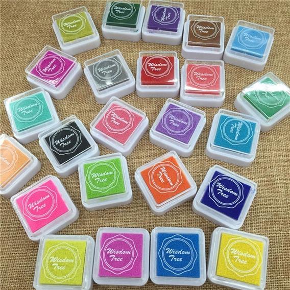 Almohadillas Dactilares Huellas Digitales Scrapbooking Color