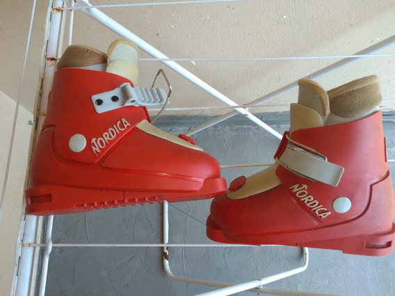 Bota Ski Nordica Infantil Made In Italy
