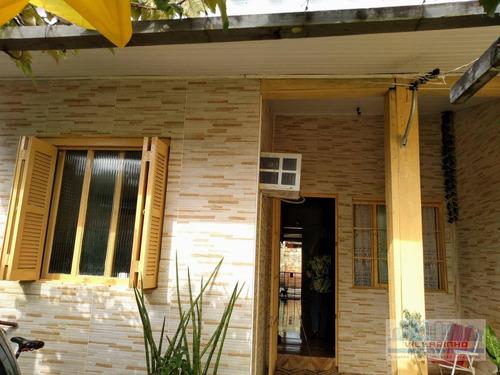 Villarinho Vende Casa , 70 M² Por R$ 160.000,00- Aberta Dos Morros - Porto Alegre/rs - Ca0431
