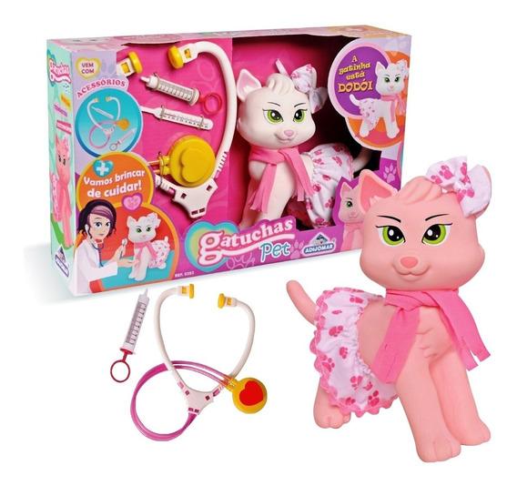 Brinquedo Gatuchas Pet Menina Veterinária - Adijomar