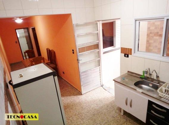 Bairro Residencial Ocian Em Praia Grande. Ótima Casa Com Churrasqueira Para Venda Contendo, 01 Quarto, - Ca3899
