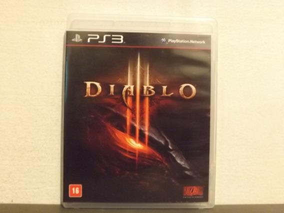 Ps3 Diablo 3 - Completo - Aceito Trocas...