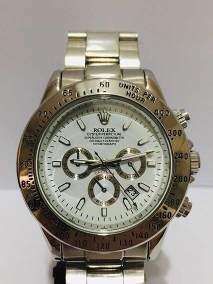 Relógio Daytona Silver White