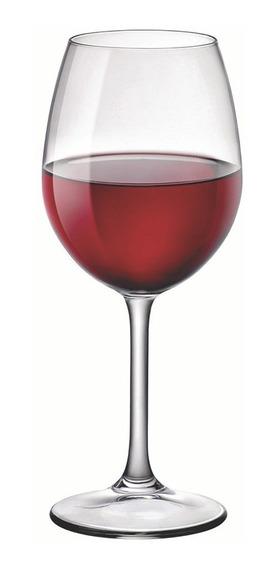 Taça De Vinho Cabernet Bormioli Riserva 6 Peças Cristalin 370ml