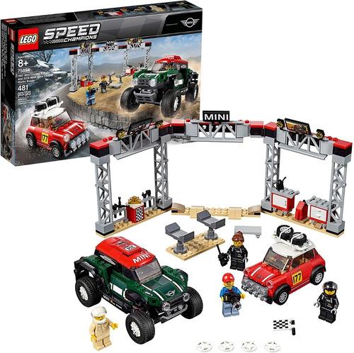 Lego Speed Champions 75894 - 1967 Mini Cooper (481 Piezas)