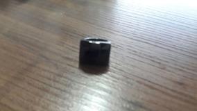 Anel Em Pedra Natural Obsidiana Preta