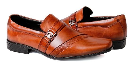 Sapatol Social Masculino Couro Legitimo Top Luxo Tchwm Shoes