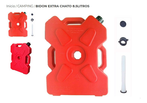 Bidon Extra Chato 8.5litros