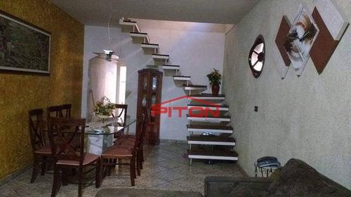 Imagem 1 de 19 de Sobrado Com 3 Dormitórios À Venda, 380 M² Por R$ 520.000,00 - Jardim Danfer - São Paulo/sp - So2419