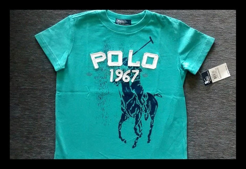 Polo Ralph Lauren Remera Importada Mc Big Pony Nene