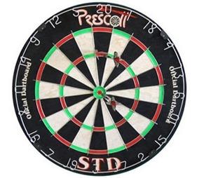 Dardo Alvo Campeonato Sisal Profissional Prescott + 6 Dardos
