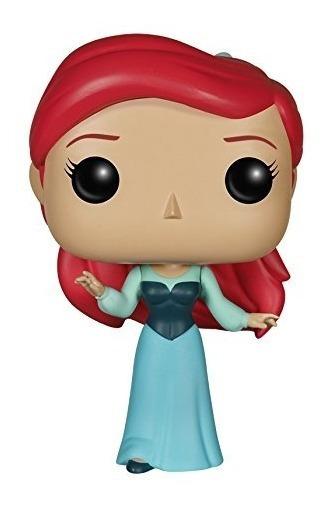 Figura Funko Disney La Sirenita Ariel Vestido Azul Pop Vinil