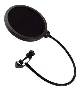filtro Anti Pop Ideal Para Microfonos En Estudios De Grabac
