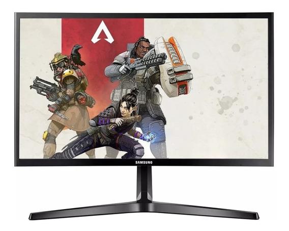 Monitor Curvo Pc Gamer 24 Pulgadas 1080p Full Hd 144hz