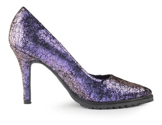 Zapatos De Mujer De Cuero De Vestir Noche Tivoli - Ferraro -