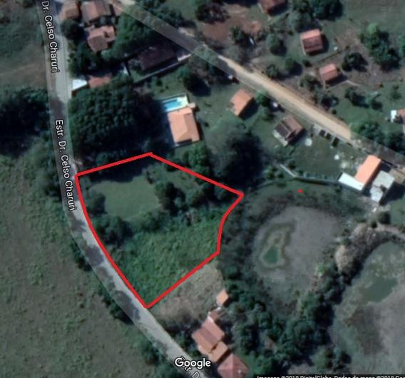 Terreno 4.000m² - Asfalto Na Porta - 850m Do Clube De Campo
