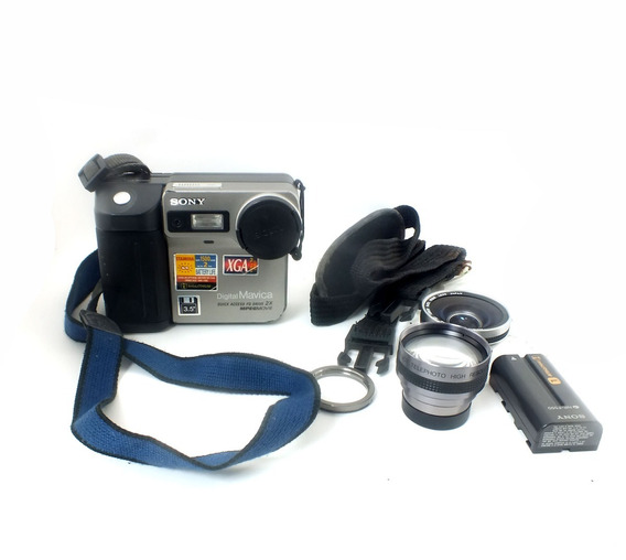 Câmera Sony Digital Mavica Mvc-fd81 Completa Maleta A11715